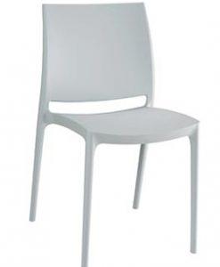 Witte designstoel